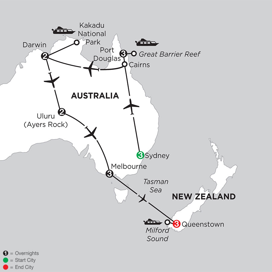Wonders of Australia with Queenstown
