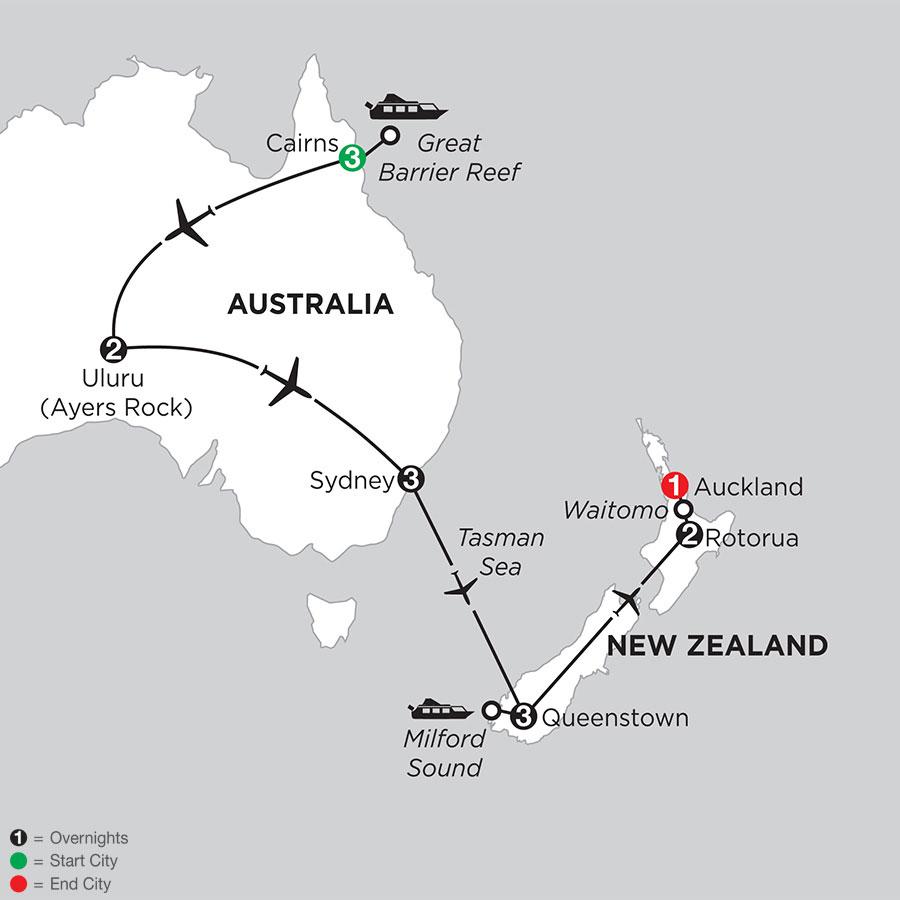 Best of Australia & New Zealand