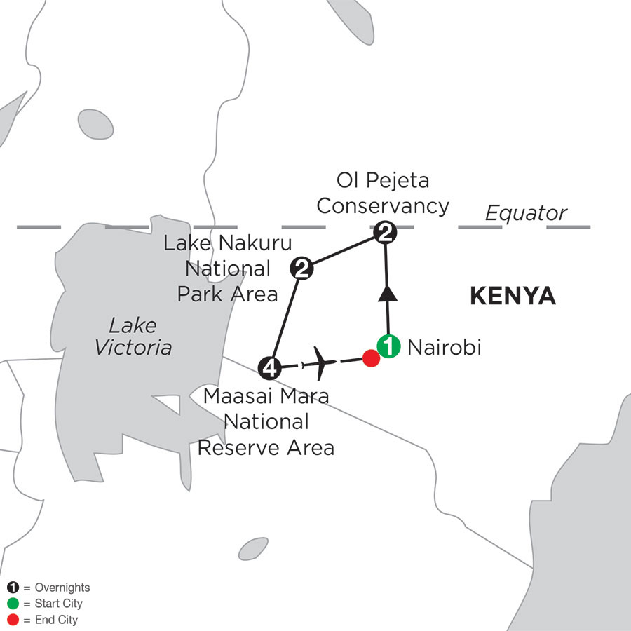 Kenya Private Safari with Maasai Mara Stay