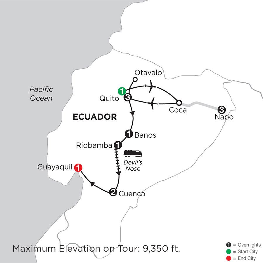 Ecuador Discovery with Ecuadors Amazon
