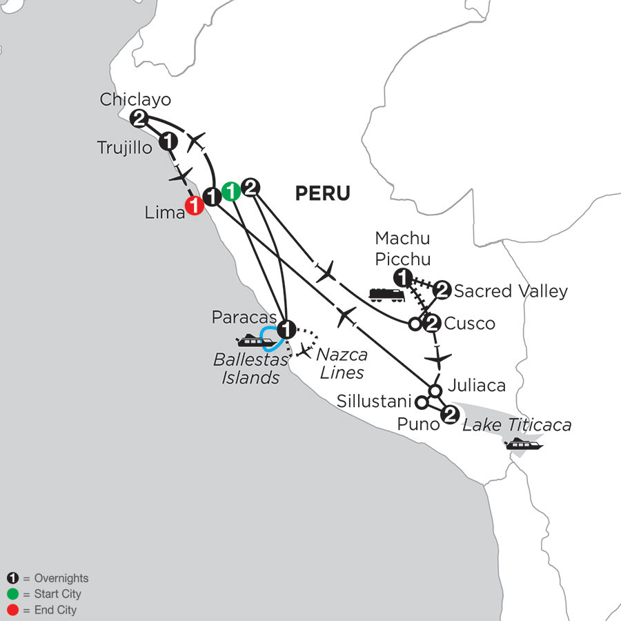 Andean Journey with Nazca Lines, Chiclayo & Truijillo