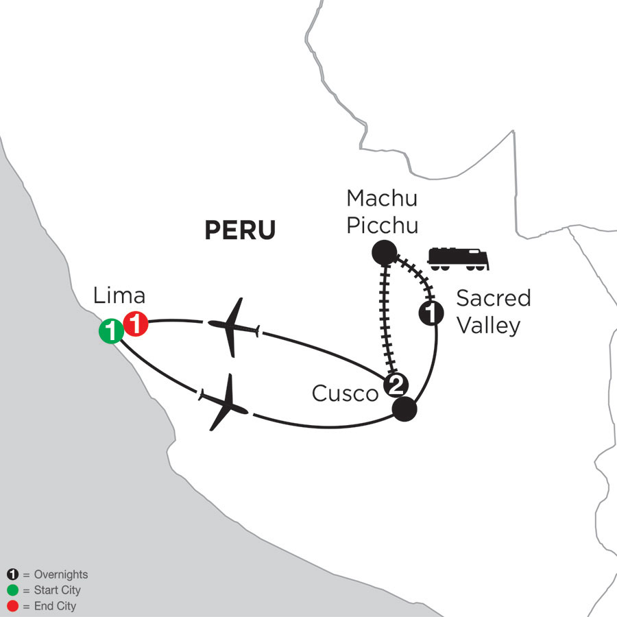 Machu Picchu Getaway with Pre & Post-Stays in Lima