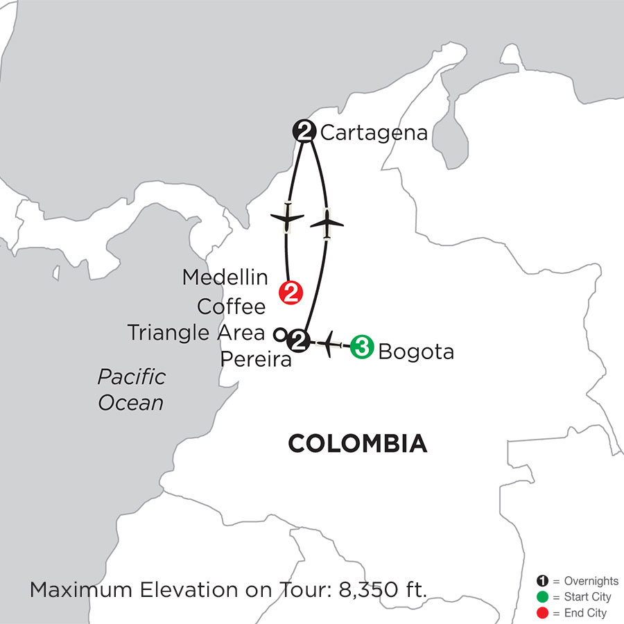 Magical Colombia with Medellin