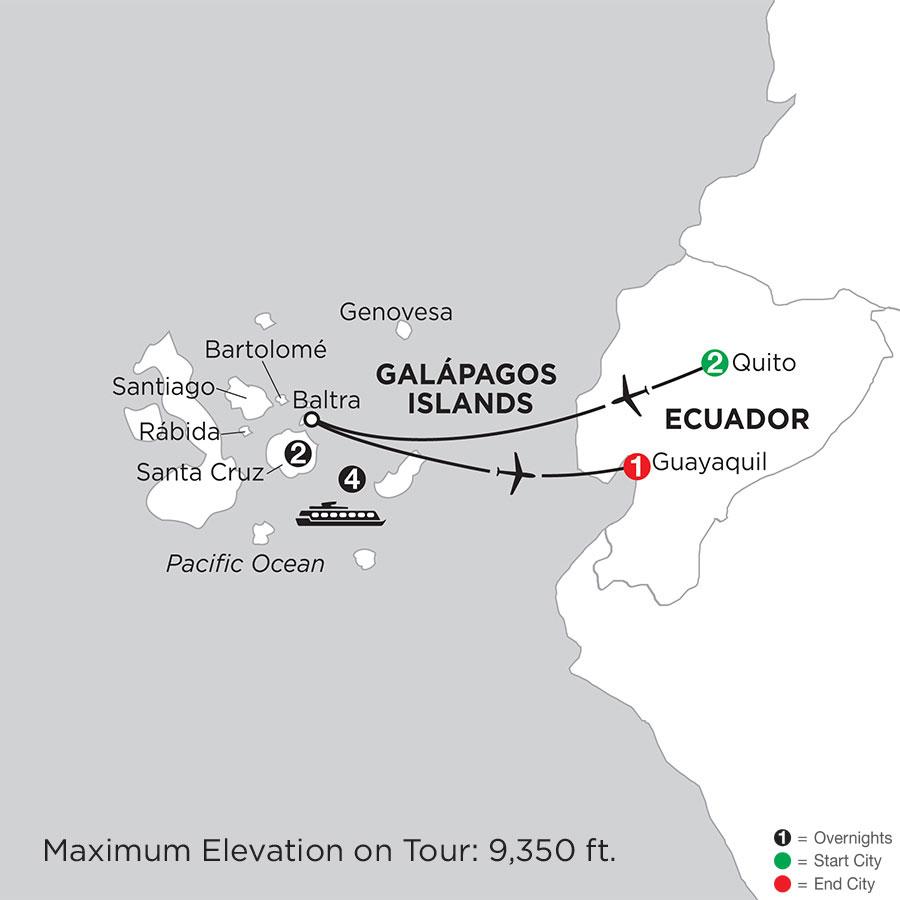Cruising the Galápagos on board the Santa Cruz II with Finch Bay in the Galápagos