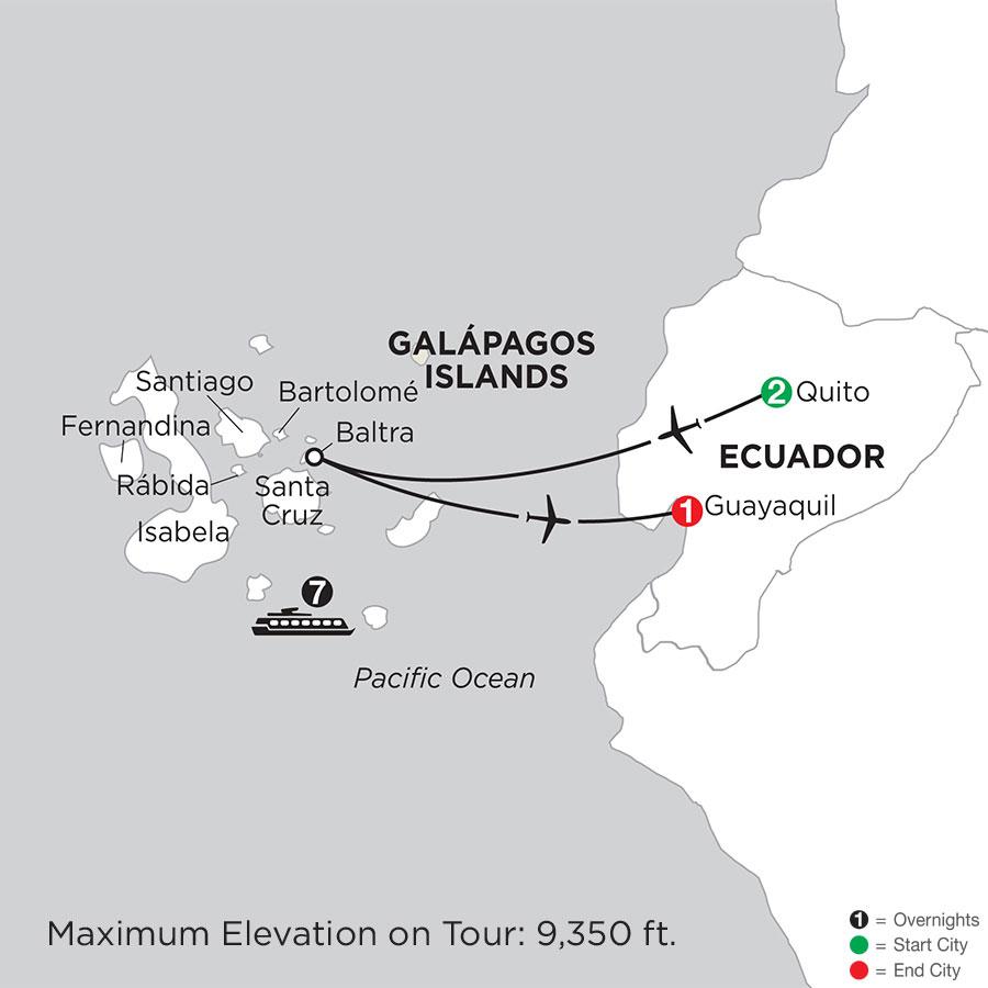 Cruising the Galápagos on board the Coral - 7 Night cruise