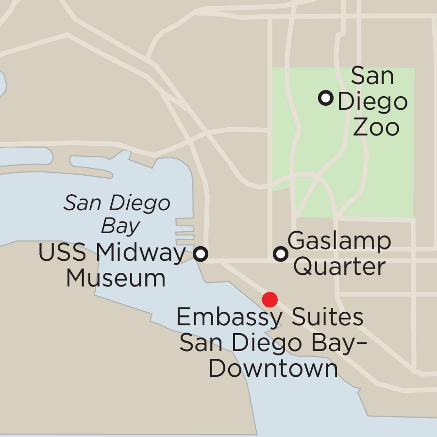 San Diego Off-Season Getaway 3 Nights