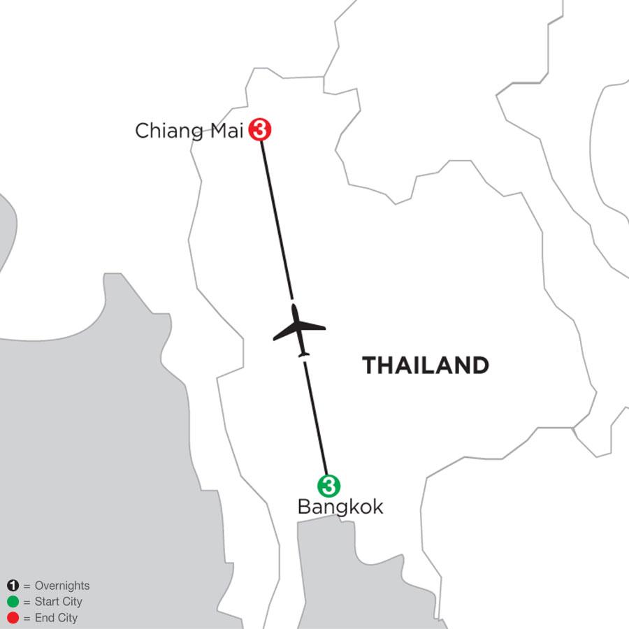 Bangkok & Chiang Mai