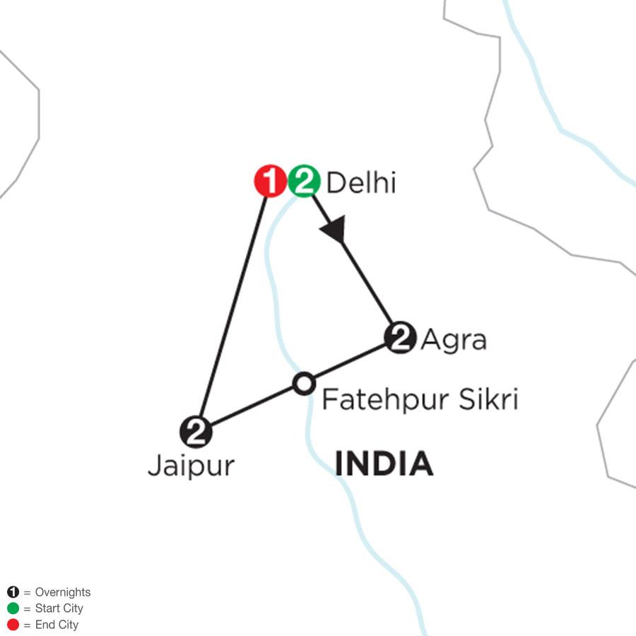 Indias Golden Triangle