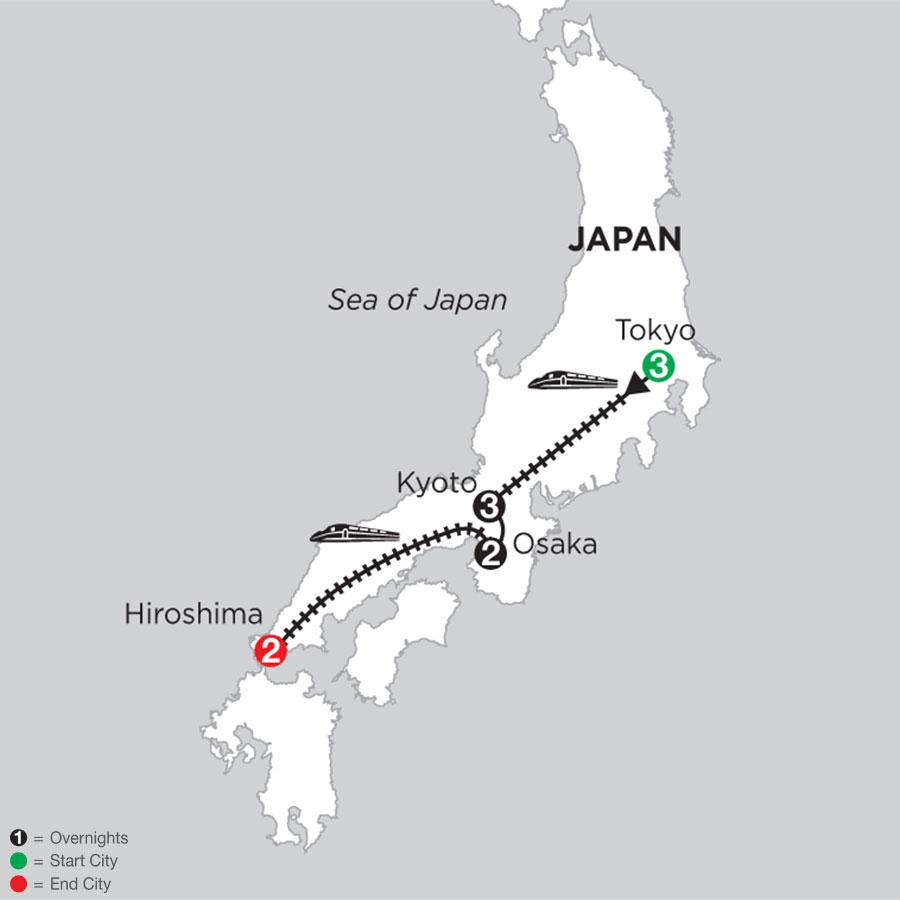 Best of Japan with Osaka & Hiroshima