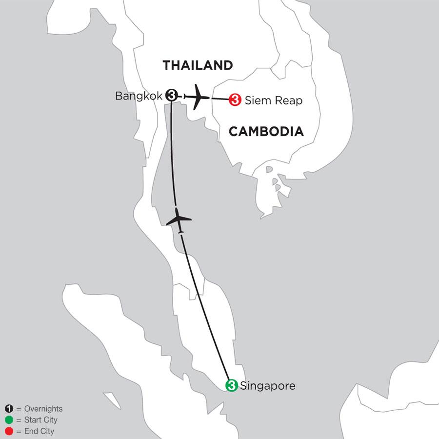 IASE Map