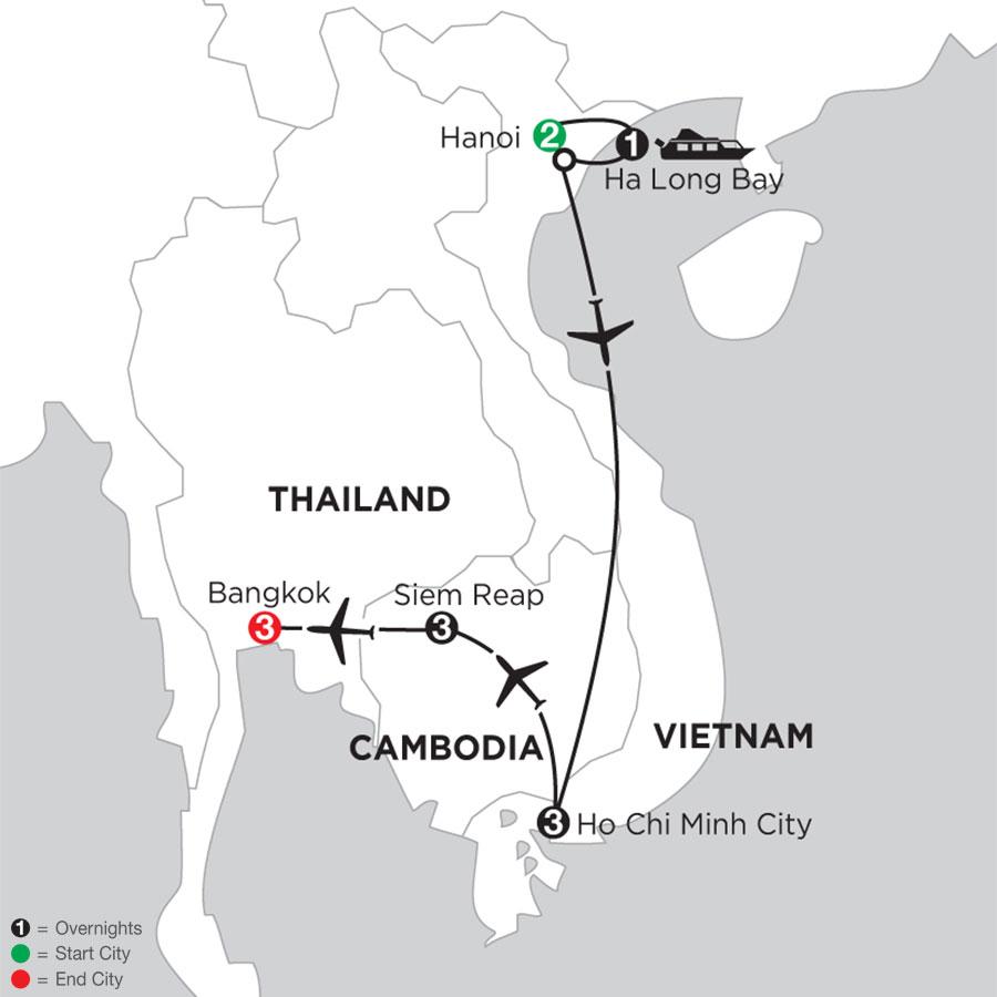 Taste of Vietnam & Cambodia with Bangkok