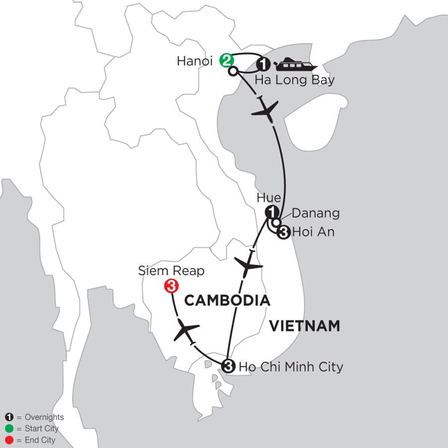 Taste of Vietnam & Cambodia with Vietnam Coast