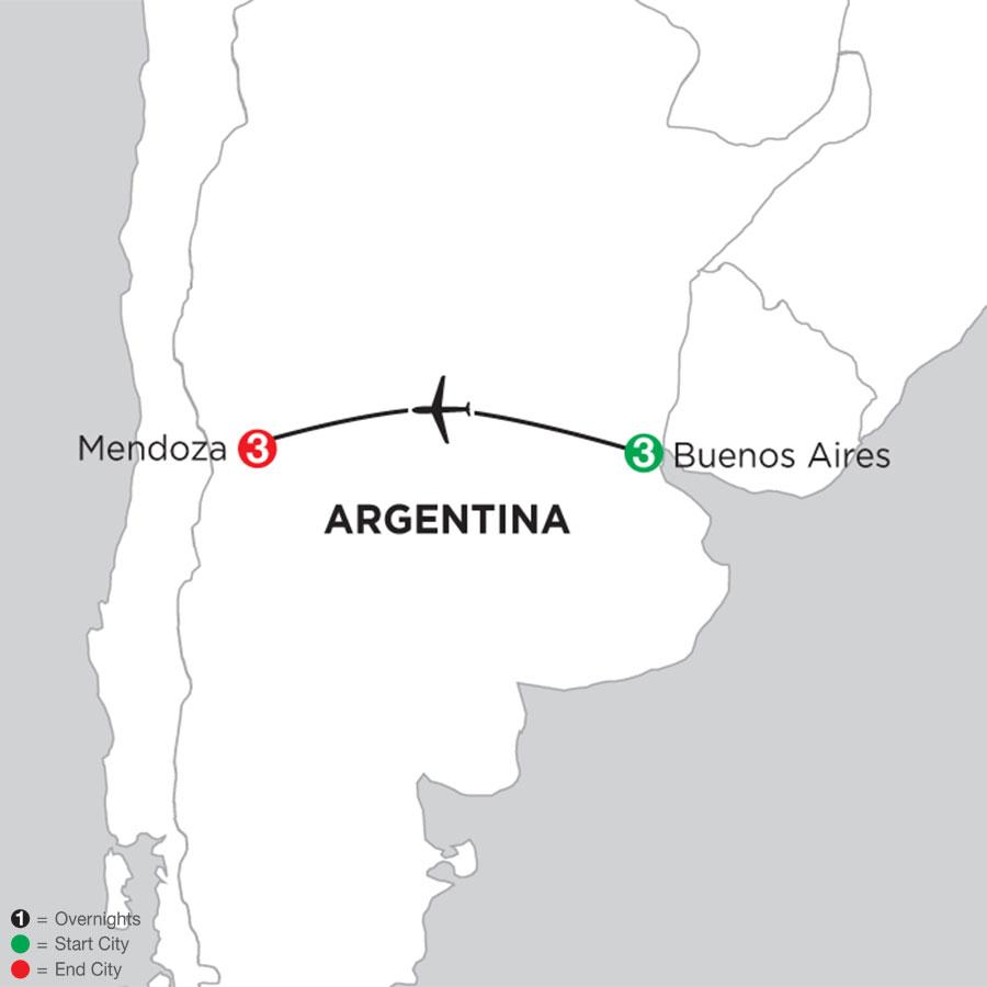 Buenos Aires Getaway with Mendoza