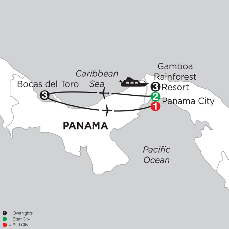 Best of Panama with Bocas Del Toro