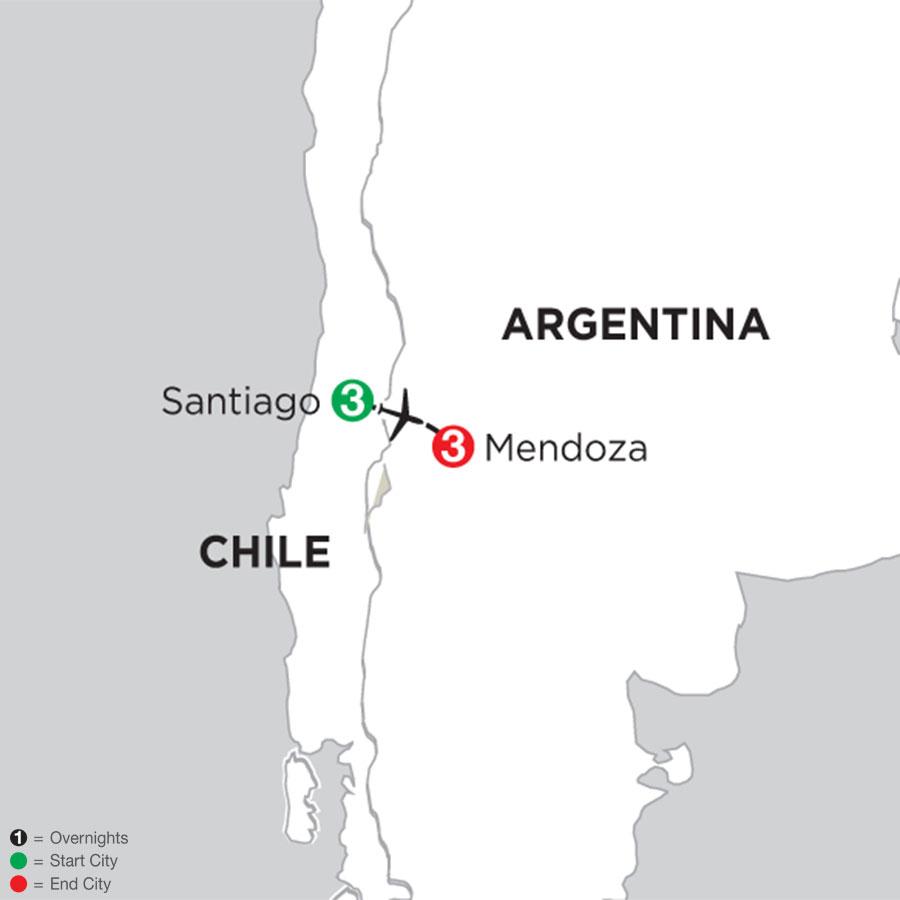 Santiago Getaway with Mendoza
