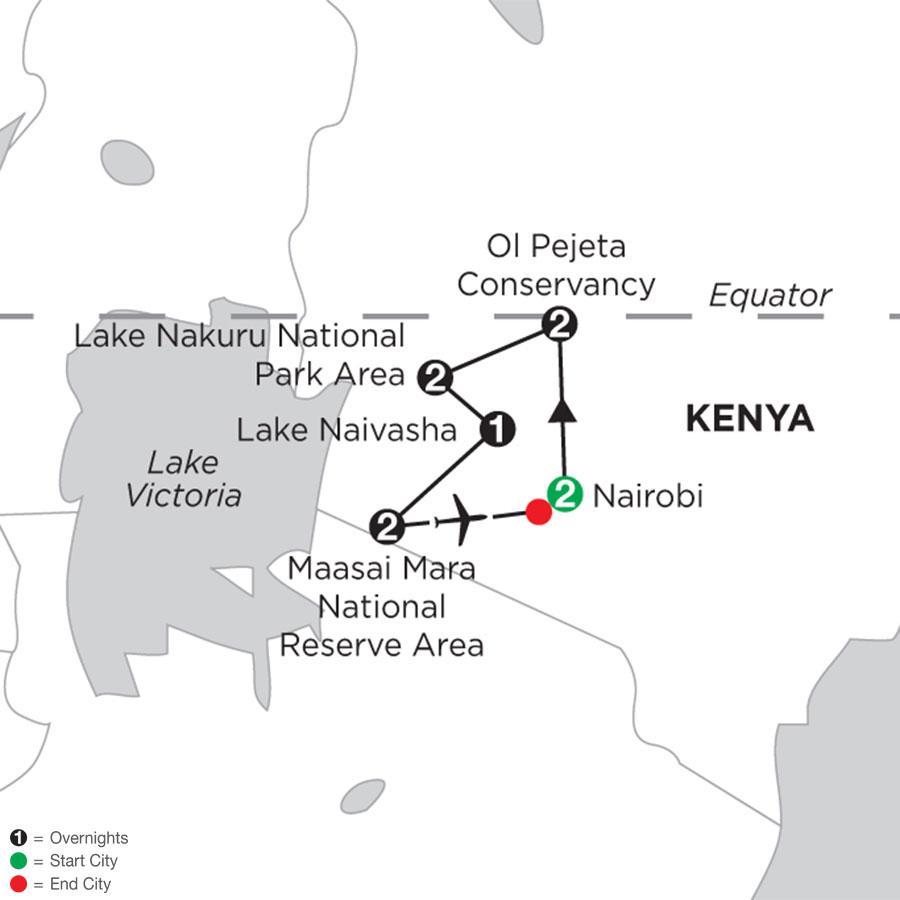 Kenya Private Safari with Nairobi