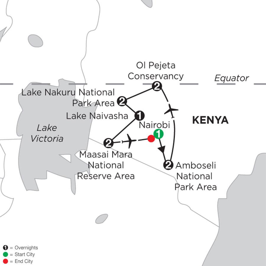Kenya Private Safari with Amboseli National Park Area