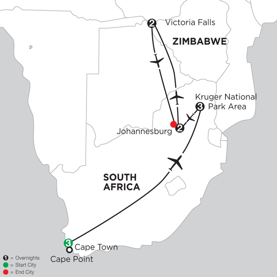 South African Sojourn with Victoria Falls