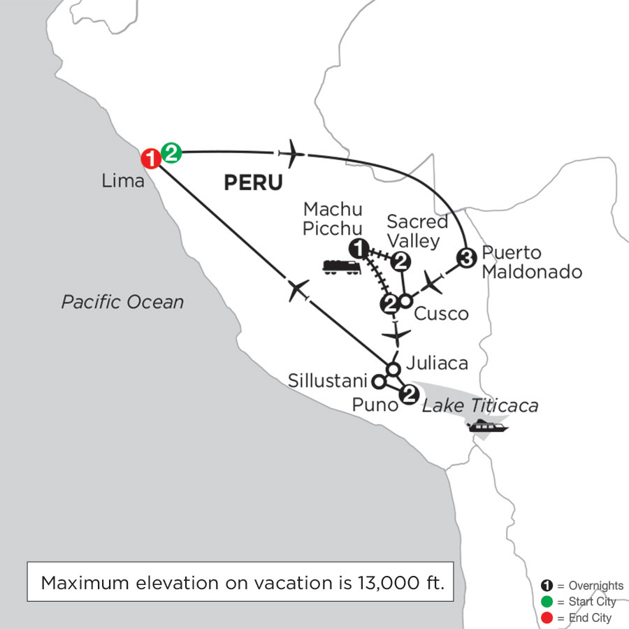 Perus Amazon & the Andes