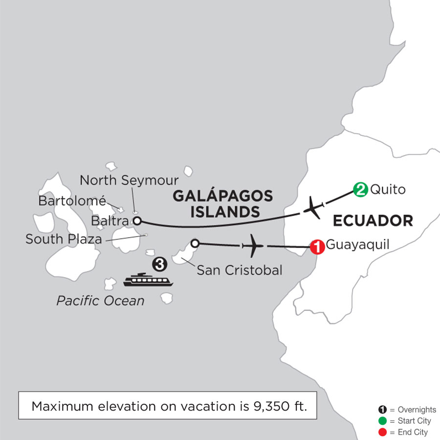 Cruising the Galápagos on the Galápagos Legend