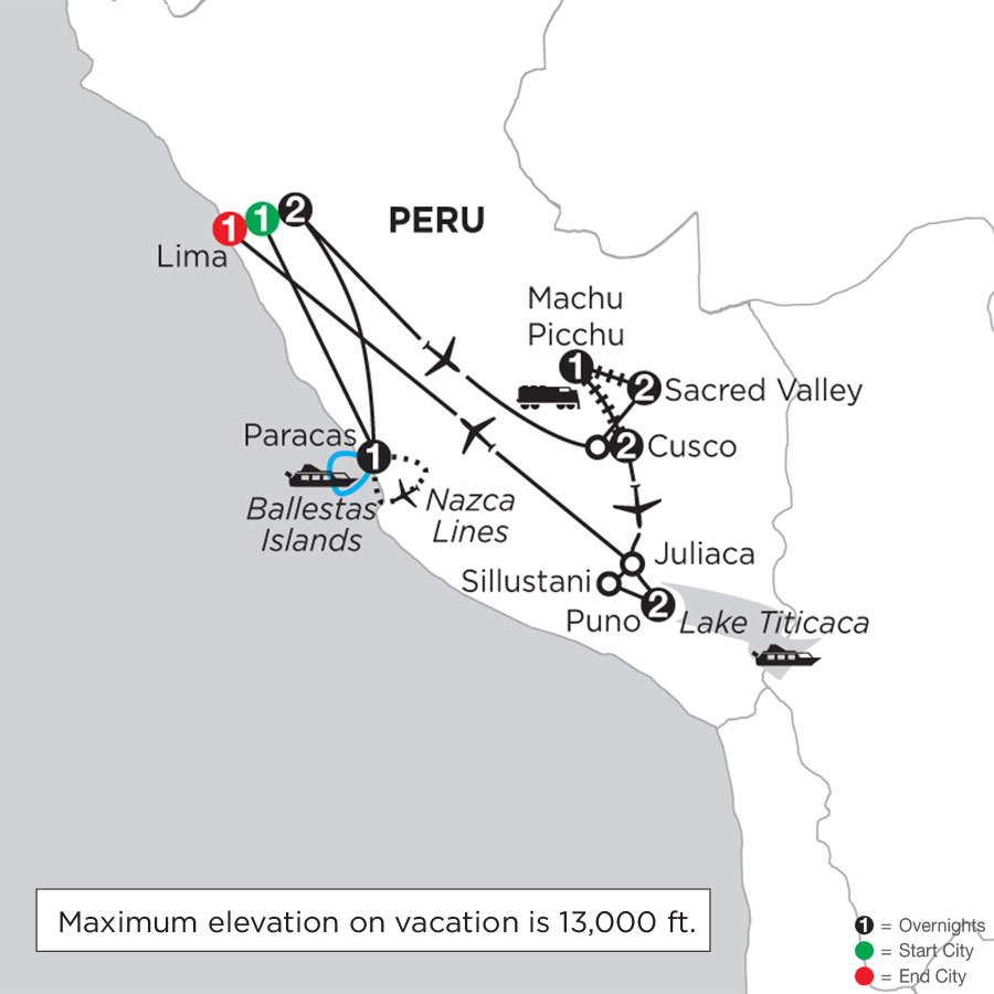 Andean Journey with Nazca Lines