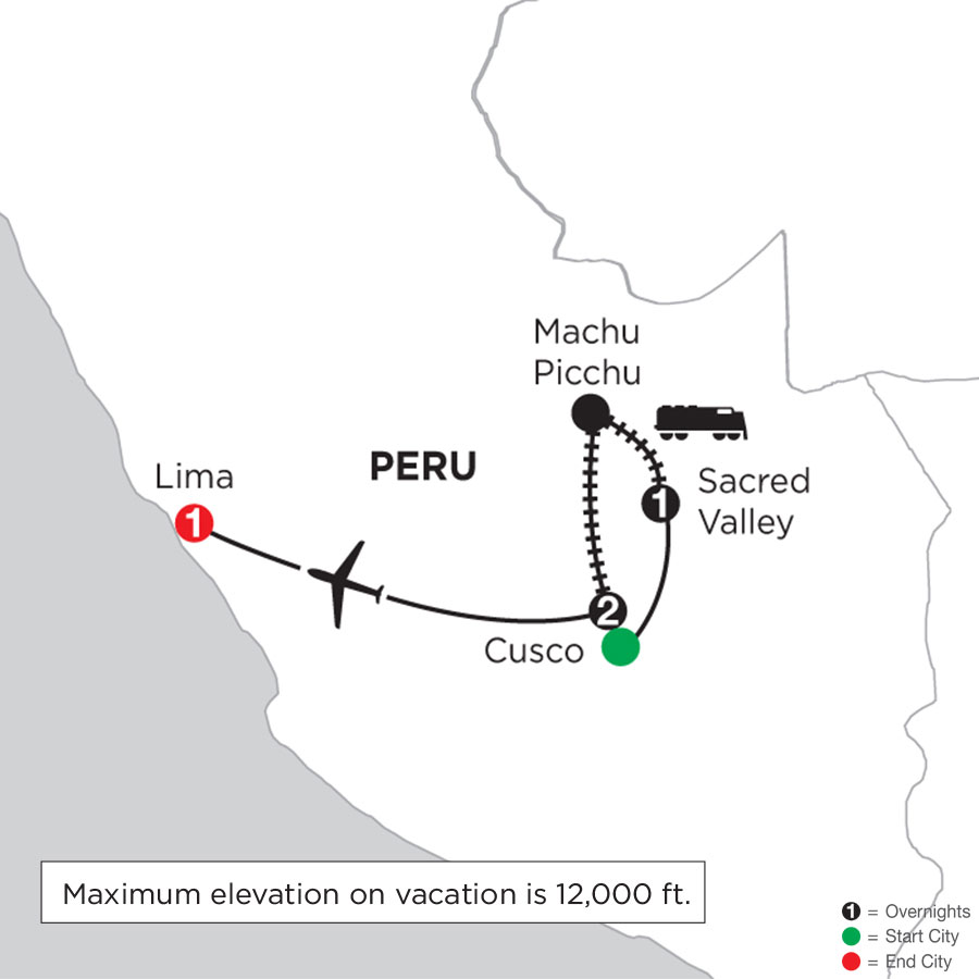 Machu Picchu Getaway with Post-Stay in Lima