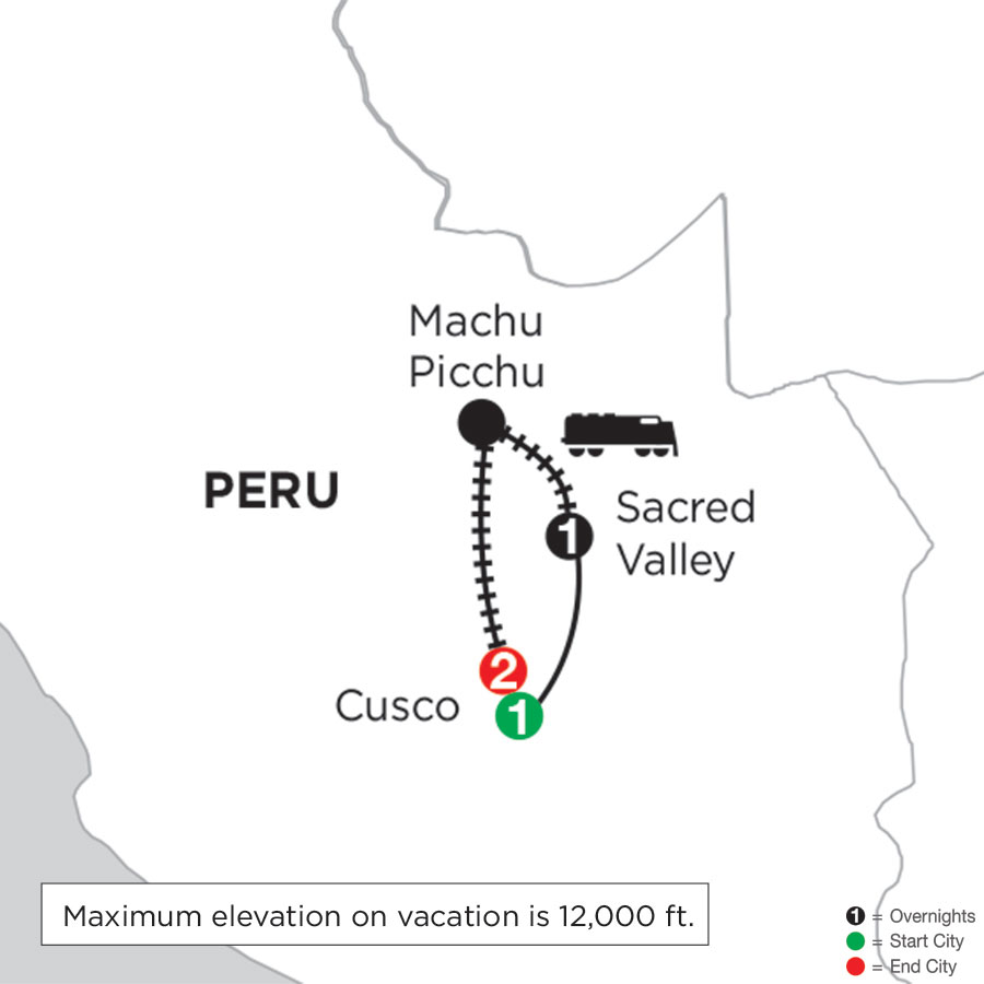 Machu Picchu Getaway with Pre-Stay in Cusco