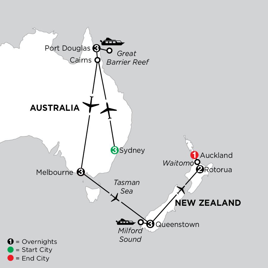 Australian & New Zealand Explorer