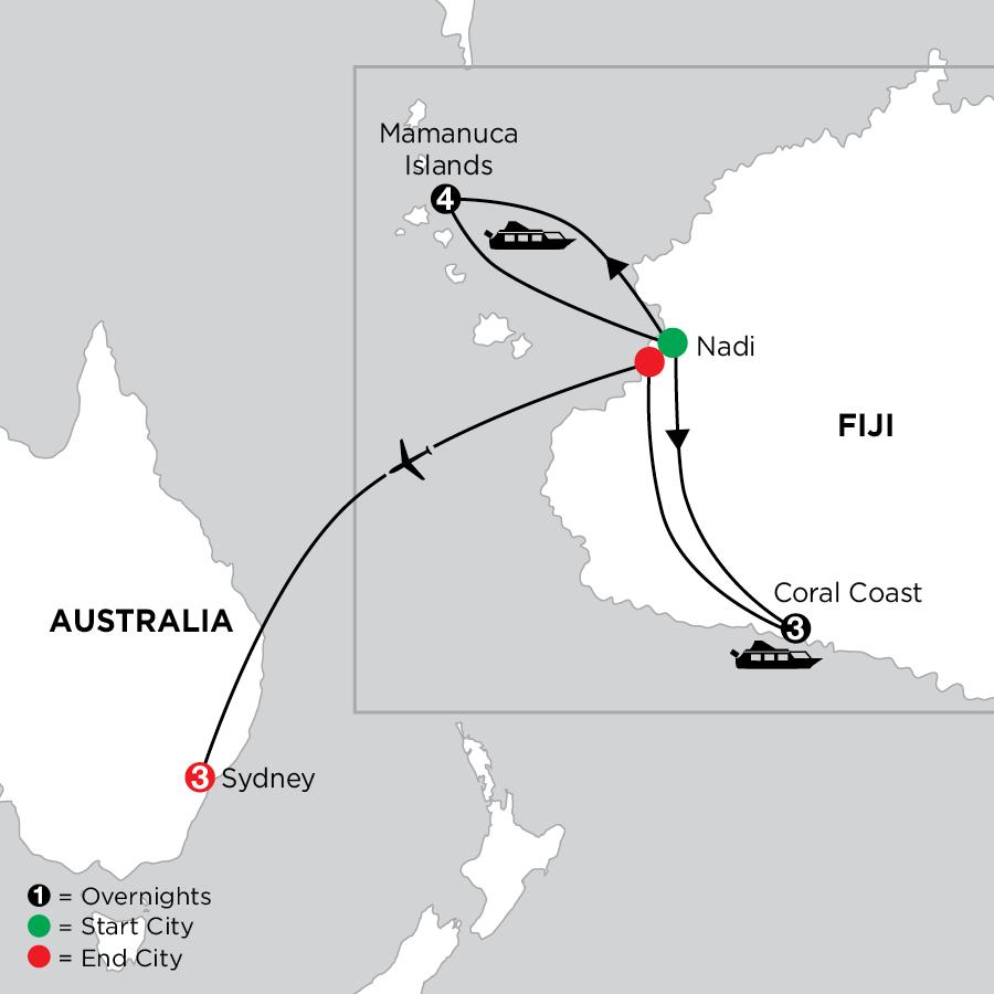 Tropical Fiji with Sydney