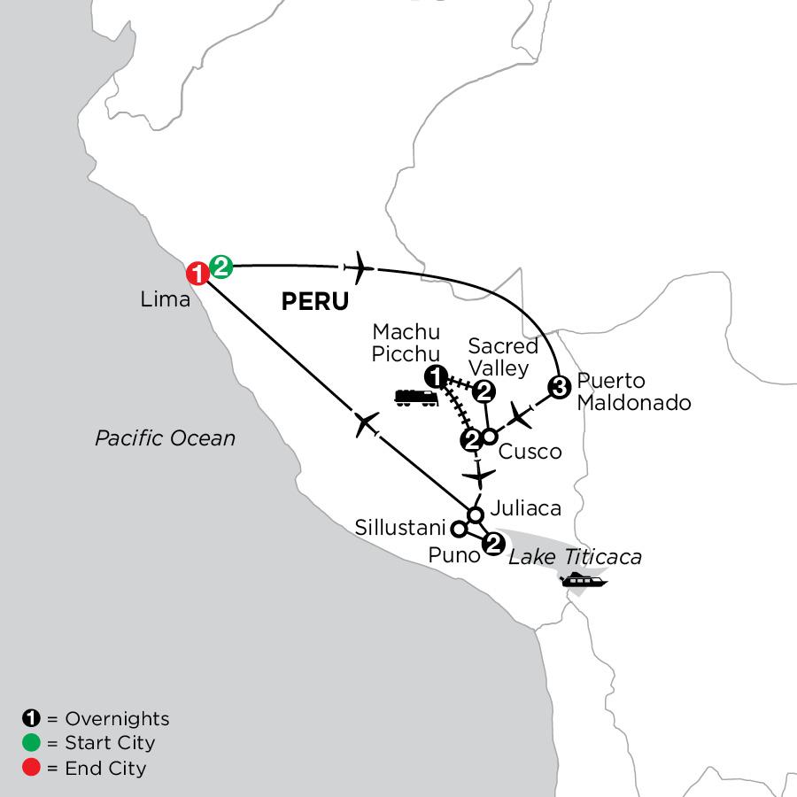 Perus Amazon & the Andes