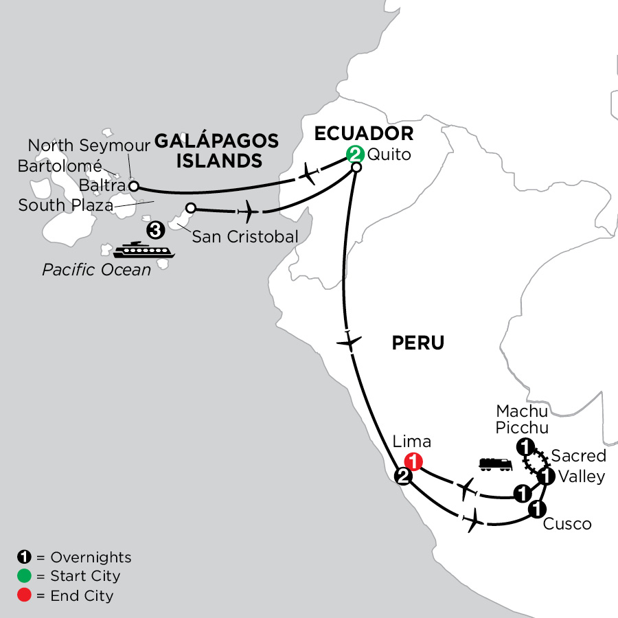 Cruising the Galápagos on the Galápagos Legend with Peru