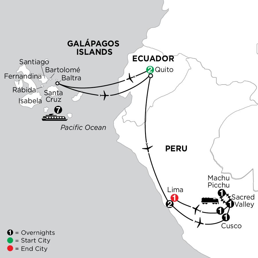 Cruising the Galápagos on board the Coral - 7 Night cruise with Peru
