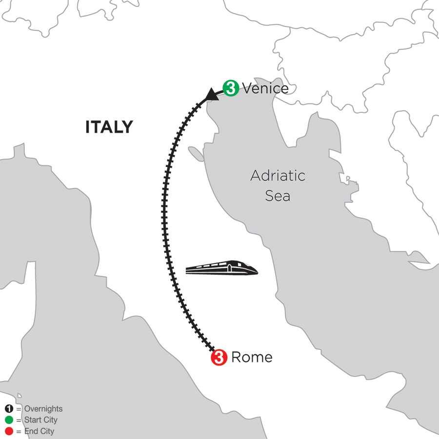 Venice & Rome