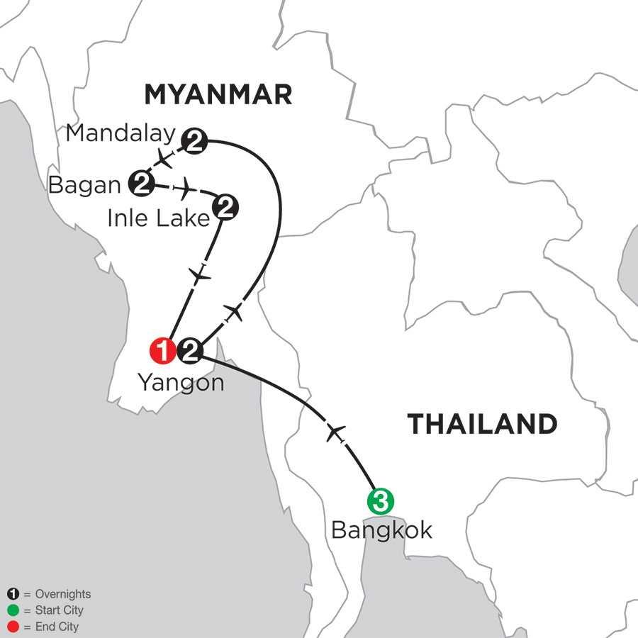 Mingalabar Myanmar with Bangkok