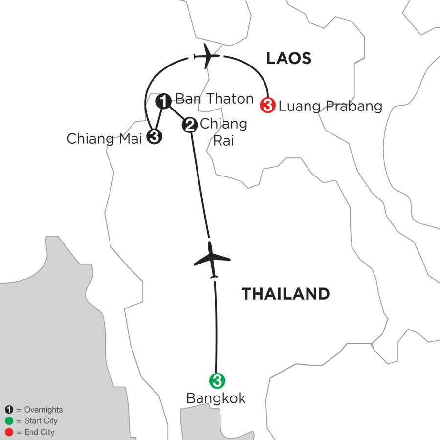 Best of Thailand with Luang Prabang