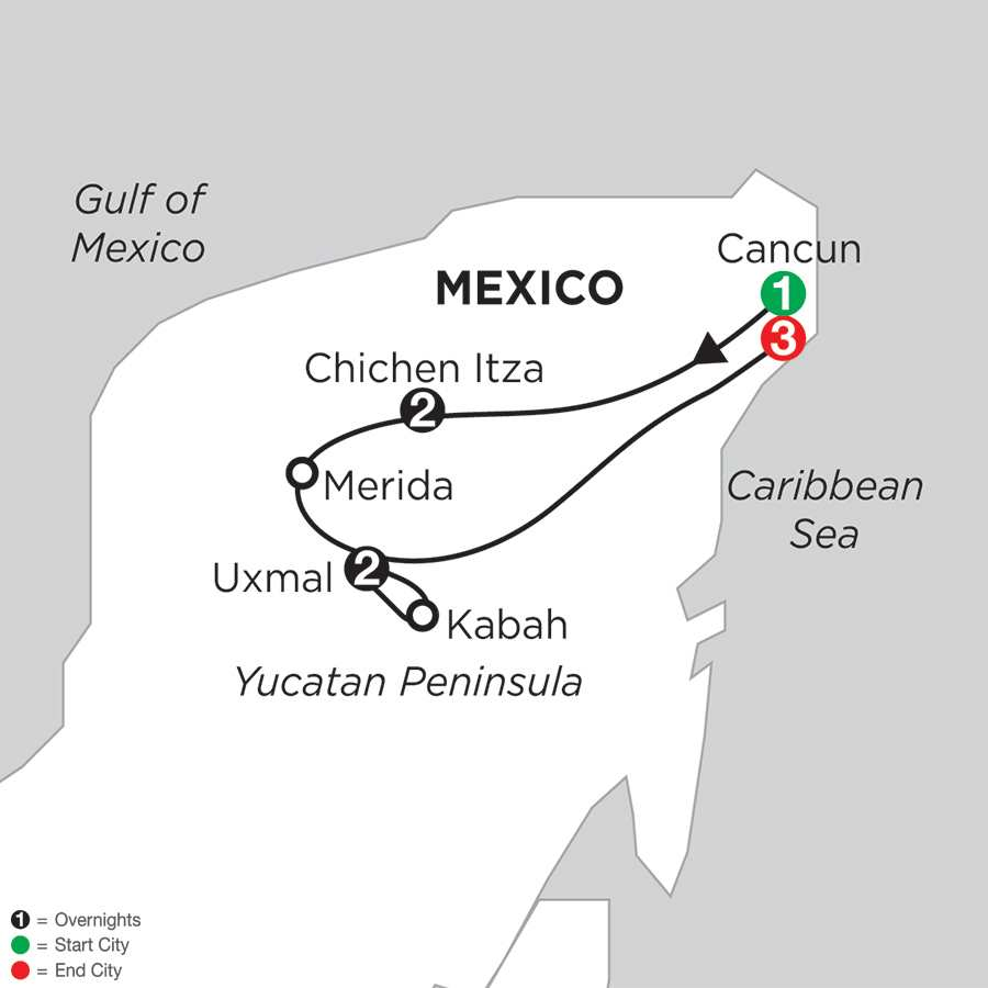 Mysteries of the Mayan World with Pre & Post-Stays in Cancun