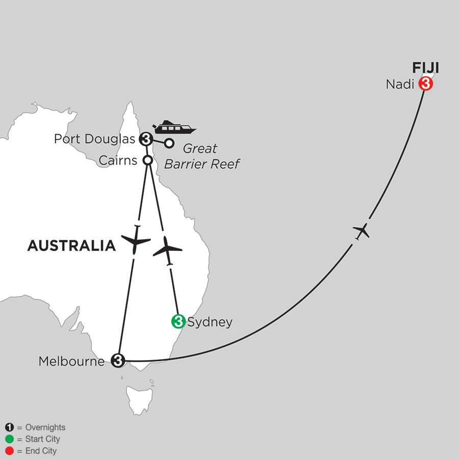 Australian Escape with Fiji