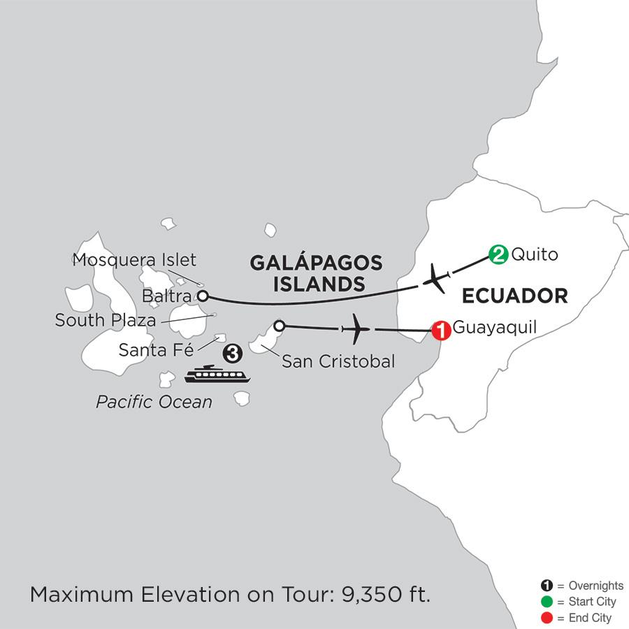Cruising the Galápagos on the Galápagos Legend
