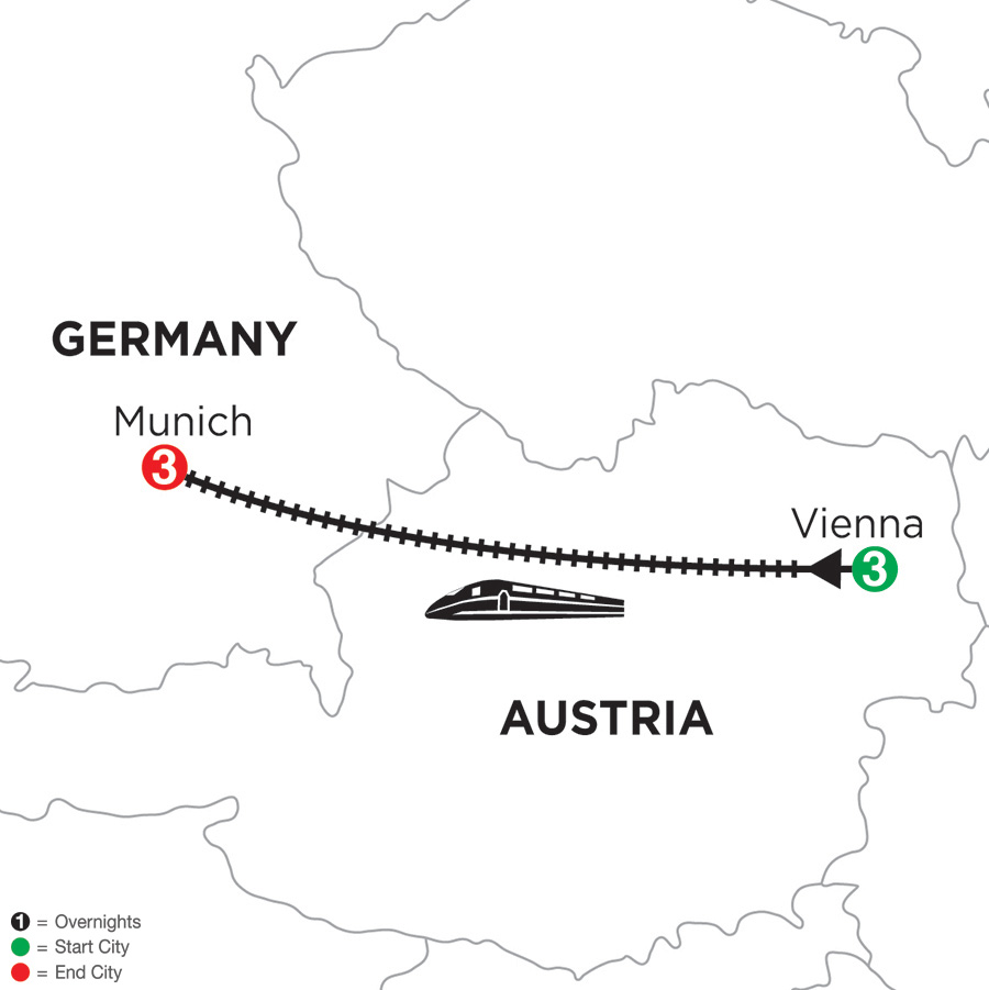 3 Nights Vienna & 3 Nights Munich