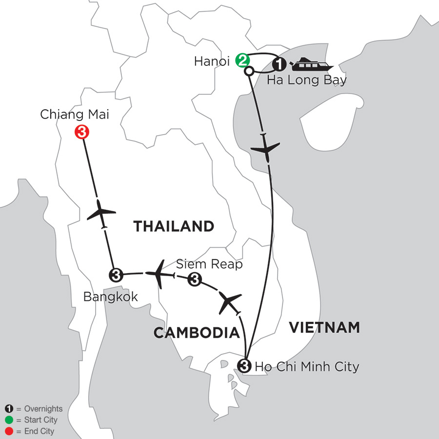 Sensational Southeast Asia with Chiang Mai