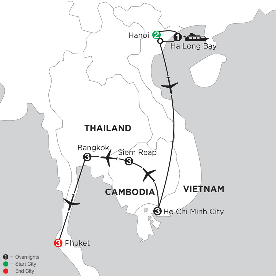 Sensational Southeast Asia with Phuket