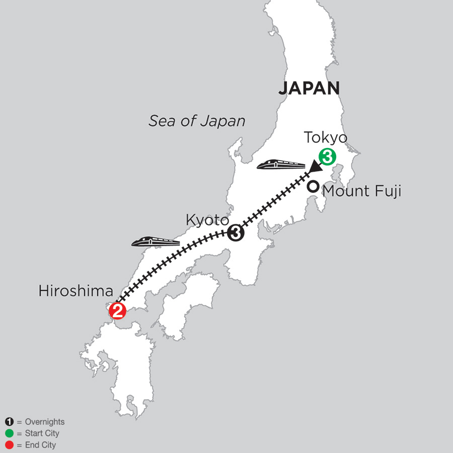 Hiroshima Vacation Monograms Japan Packages - Japan map hiroshima