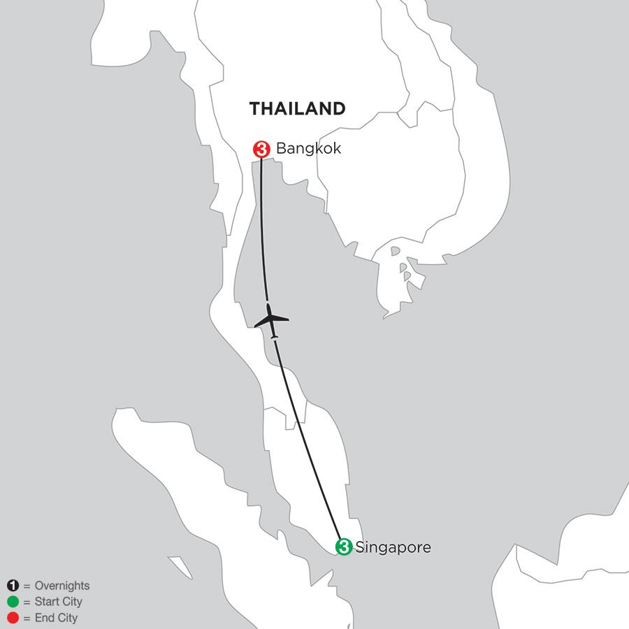 Singapore & Bangkok