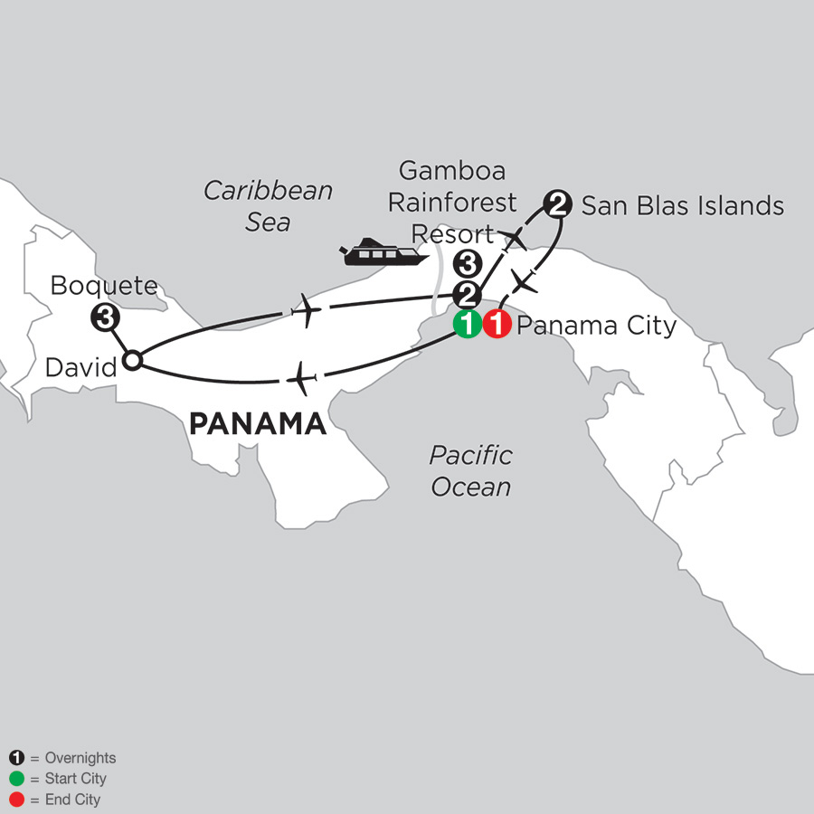 Best of Panama with Boquete & San Blas Islands