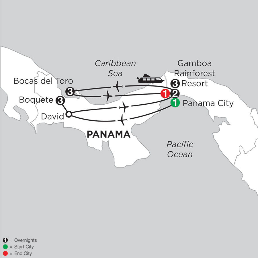 Best of Panama with Boquete & Bocas Del Toro