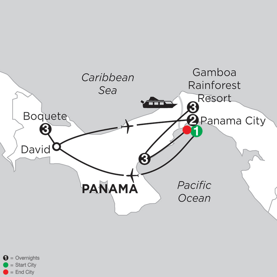 Best of Panama with Boquete & Pacific Coast