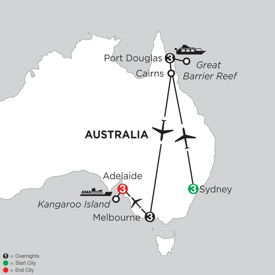 Australian Explorer with Adelaide