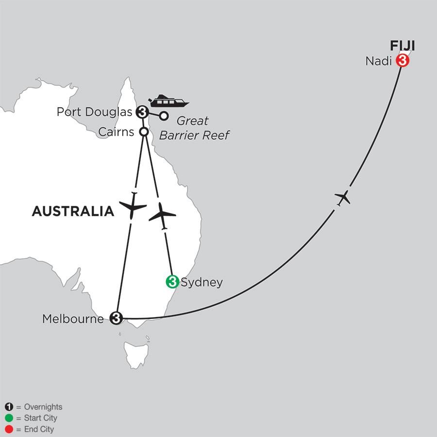 Australian Explorer with Fiji