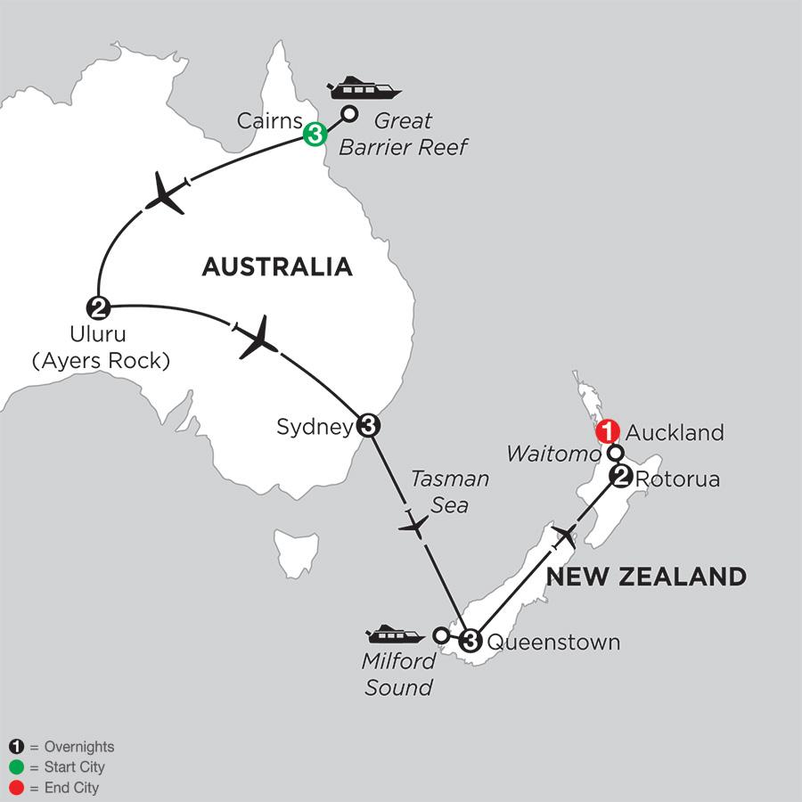 Best of Australia & New Zealand Tour - Monograms®