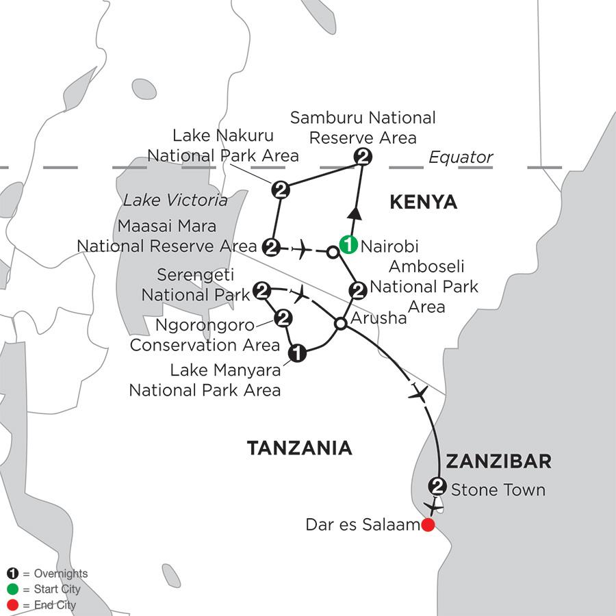 Kenya & Tanzania Private Safari with Zanzibar – Stone Town